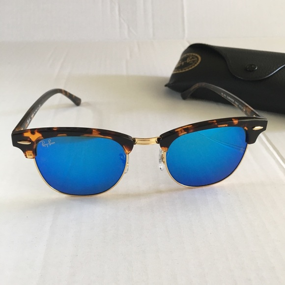 a124c8e7a Ray-Ban Accessories | Rayban Clubmaster Mirrored Sunglasses Rb3016 ...
